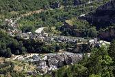 Sainte-Enimie village — Stock Photo