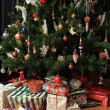 Christmas tree and presents — Stock Photo #2292419