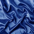 Stock Photo: Elegant blue satin background