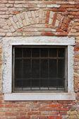 Brick window — Stock Photo