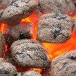Charcoal brickets — Stock Photo