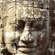 Stone face of Bayon — Stock Photo
