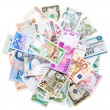 Money from around the world — Stock Photo