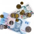 Royalty-Free Stock Photo: Thai currency cash