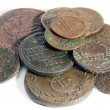 Royalty-Free Stock Photo: Heap of old copper coins