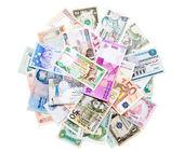 Money from around the world — Stock Photo