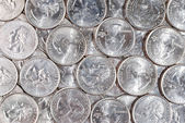American quarter coins — Stock Photo