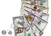 Dinero americano — Foto de Stock