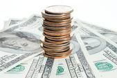 Amerykański pieniądze — Zdjęcie stockowe