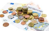 Euro nakit — Stok fotoğraf