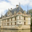 Azay Le Rideau castle — Stock Photo