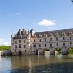 View of Chateau de Chenonceau — Stock Photo
