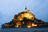 Abbey Le Mont Saint Michel — Stock Photo