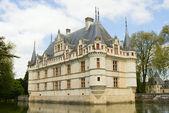 Azay Le Rideau castle — Stock Photo