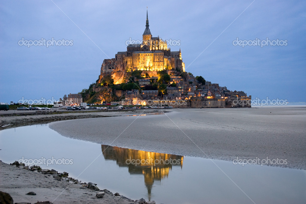 Night view , Normandy, France — Stock Photo #2185562
