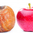 Two apples - Stock Photo