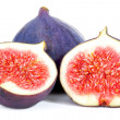 Stock Photo: Fig with halves