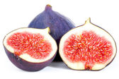 Fig with halves — Stock Photo