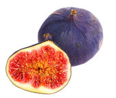Fig with half — Stock Photo