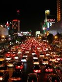 Bangkok Night Traffic — Stock Photo