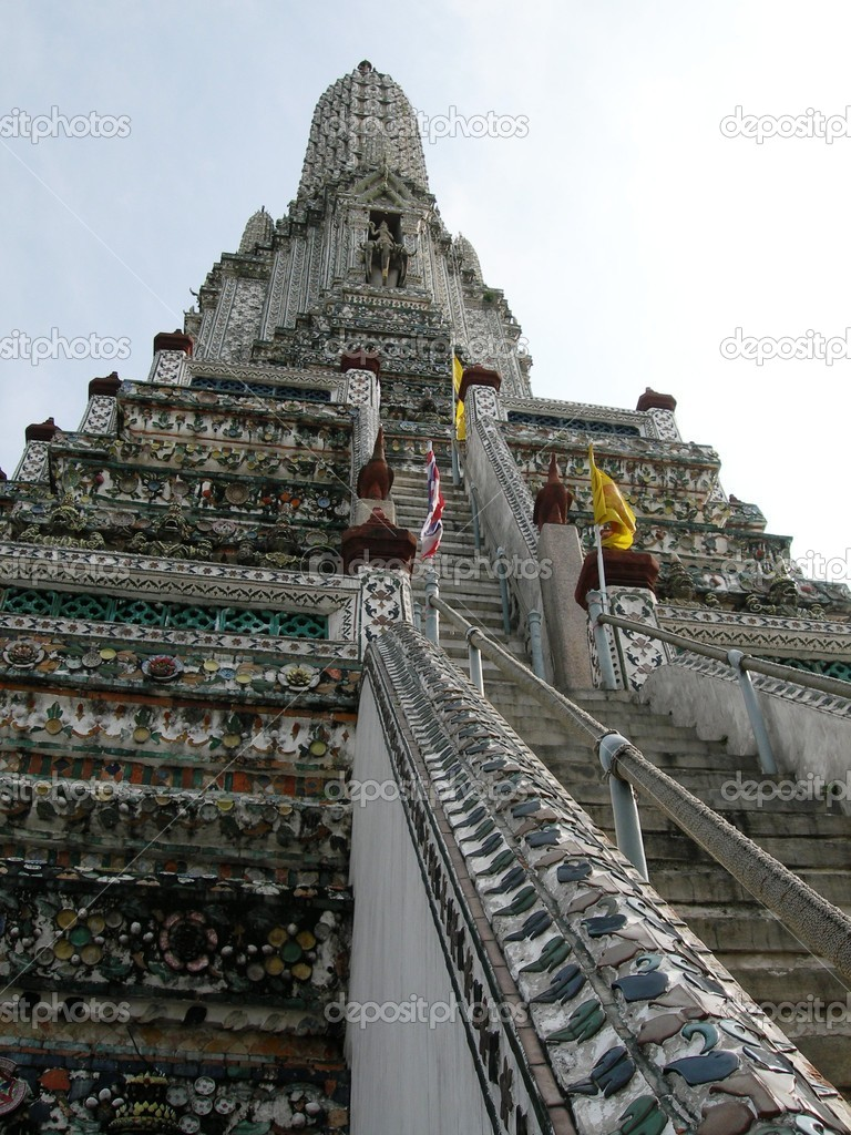 Temples in Bangkok, Thailand — Stock Photo #2175255