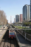 Trasporto urbain — Foto Stock