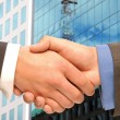Business handshake. - Stock Photo