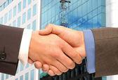 Business handshake. — Stock Photo