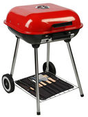 Barbecue-grill. isoliert — Stockfoto