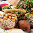 Middle eastern cuisine. - Stock Photo