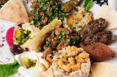 Middle eastern cuisine. — Stock Photo