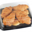 Stock Photo: Croissant packaging. Isolated