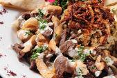 Shawarma plate. — Stock Photo