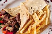 Shawarma. — Stock Photo