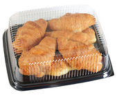 Croissant packaging. Isolated — Stock Photo
