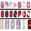 Nail design - Stock Photo