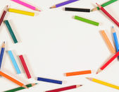 Color pencils. — Foto Stock