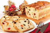 Christmas cake. — Stock Photo