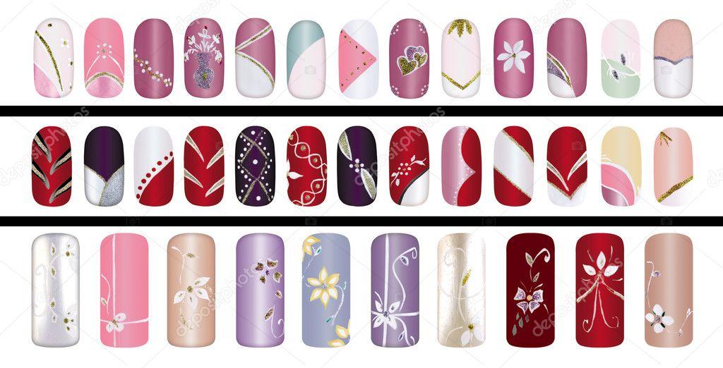 Какой рисунок выбрать для ногтей