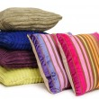 Cushions. Isolated - Stock Photo