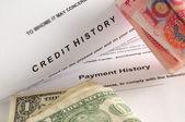 Financial history. — Stock Photo