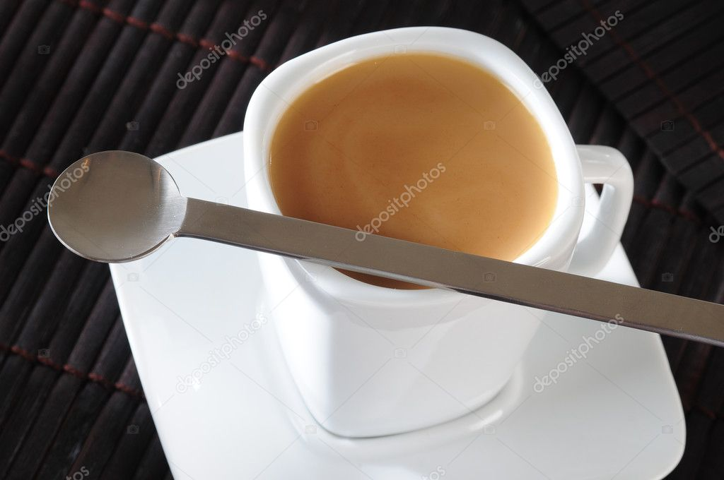 Coffee or tea with milk. — Stock Photo #2250679