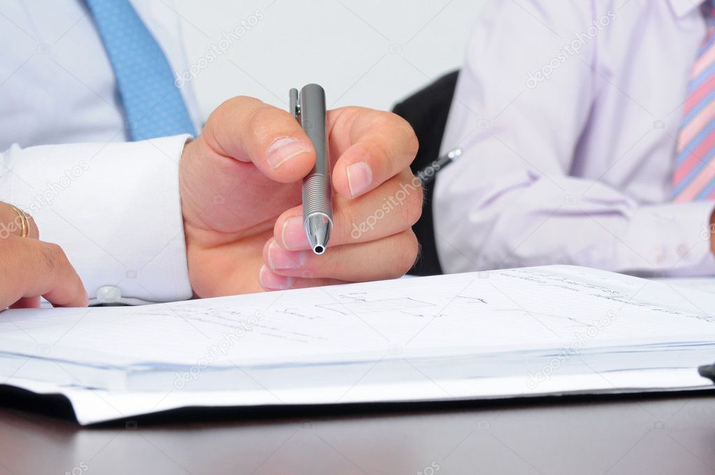 Active in a boardroom. — Stock Photo #2319662