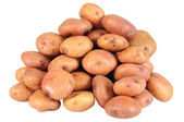 Potatoes. Isolated — Stock Photo
