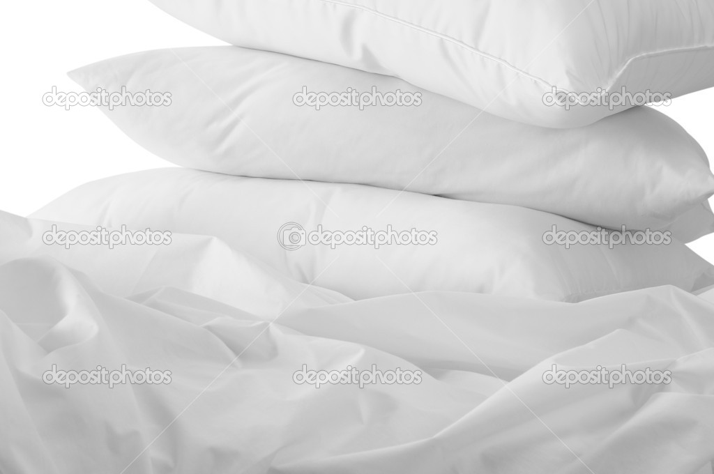 White bedding.  Stock Photo #2321249