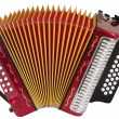 Stock Photo: Accordion. Isolated