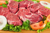 Raw meat. — Stock Photo