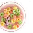 Cereal rings. Isolated — Stock Photo