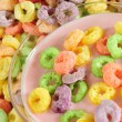 Cereal rings. — Foto Stock