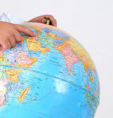 Globe. Concept of education. — Stock Photo